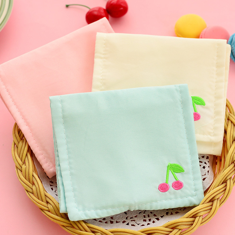 5 pcs/lot Cotton linen printing women coin bag change purse sanitary napkin storage bags female wallets small pouches for girls