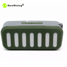 NewRixing NR-2013 Wireless Portable Loudspeaker Bluetooth Speakers Travel Speaker Handfree Speaker For iPhone For Samsung Phone