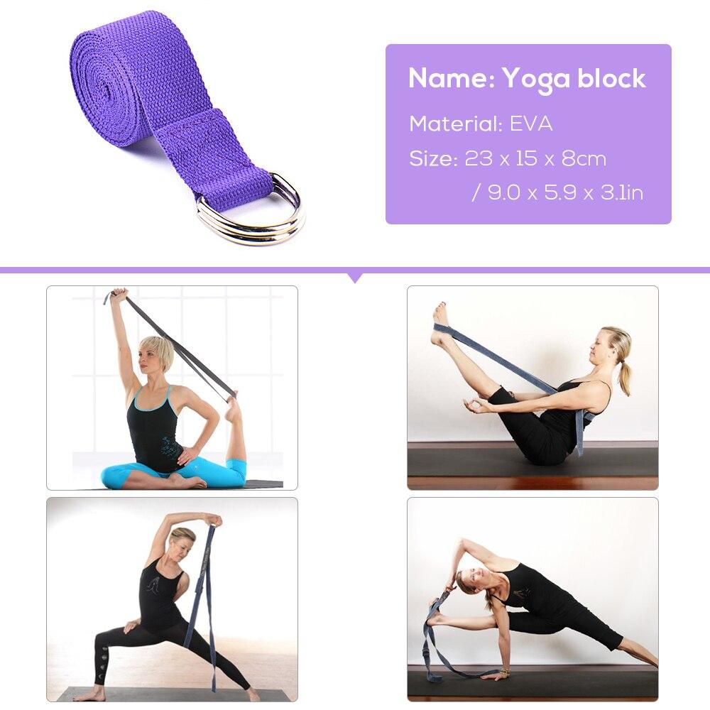 Yoga Training Equipment Including 5 PCS/Set Resistance Loop Band, 2