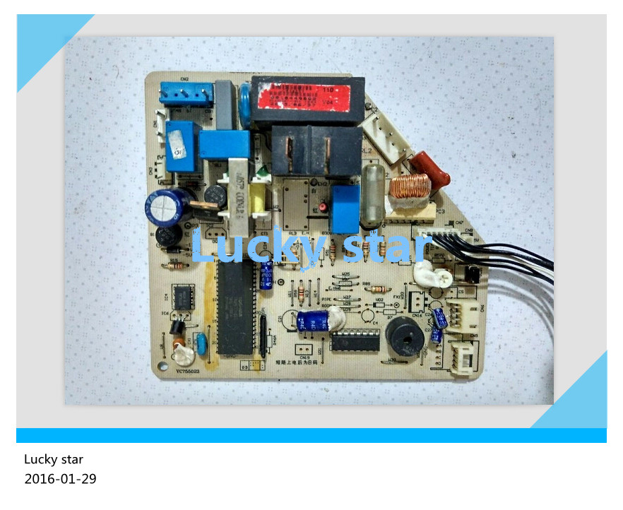 95% new for Haier Air conditioning computer board circuit board KF-22GW/F KF-25GW/F 0010449002 good working 95% new for haier refrigerator computer board circuit board bcd 198k 0064000619 driver board good working