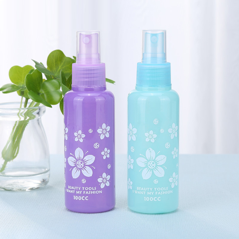 Aihogard 1pc Portable Mini Plastic 100ml Empty Liquid Trial Small Sample Bottles Cosmetic spray bottle Travel Packing Bottle цена