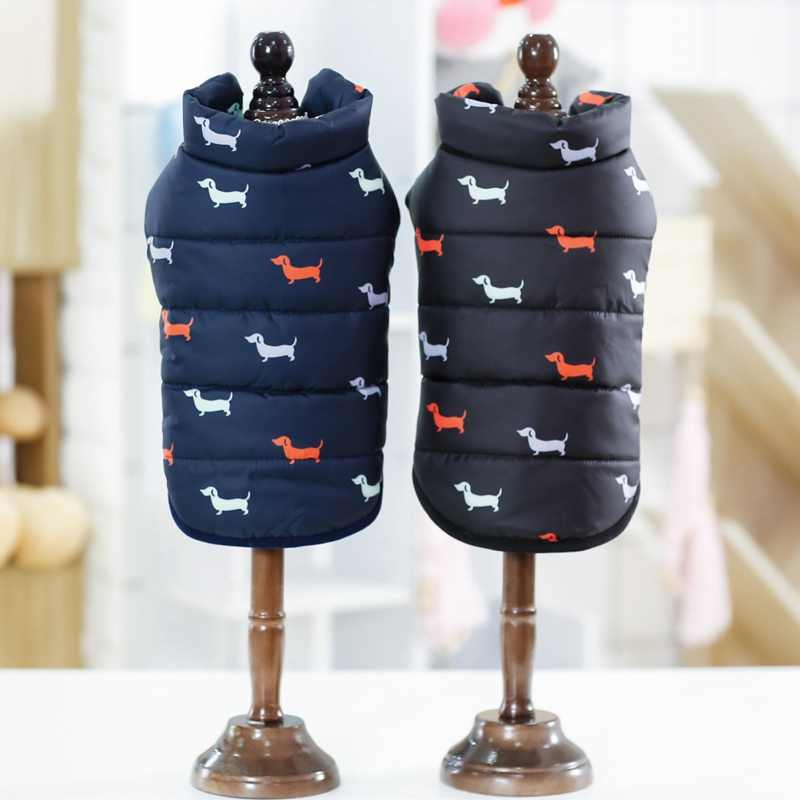 Cool Autumn Winter Pet Dog Cat Warm Clothes Coat British Style Jacket with Fur Collar For Small Medium Dog Puppy ropa para perro