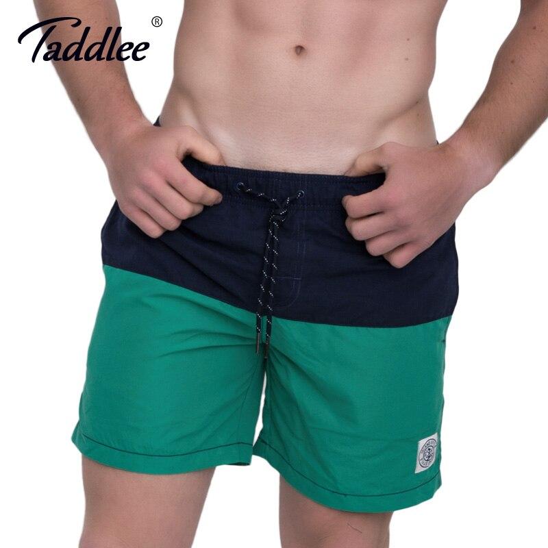 Taddlee Brand Men Beach   Shorts     Board   Boxer Trunks Boardshorts Swimwear Swimsuits Swim Surfing Sports Run   Shorts   Quick Drying