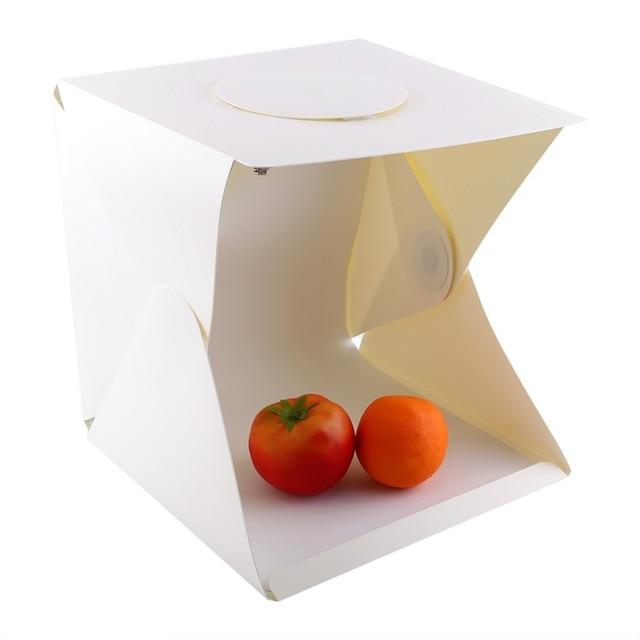 aliexpress com buy 30 30 30 cm light photo box tent led light