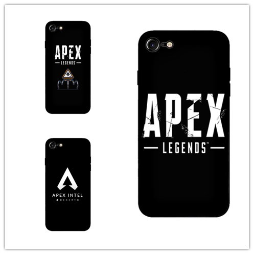 buy online 129c7 1fd98 US $1.99 |reddit apex legends Black super soft silica gel cell phone shell  for iphone 5 5s se 6 6s 6p 7 7p 8 8p X XS XR XSMAX-in Half-wrapped Case ...