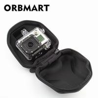 Orbmart Kleine Eva Draagbare Beschermende Tas Voor Gopro Hero 4 3 + 3 2 Xiaomi Yi Sjcam SJ4000 SJ5000 SJ6000 Wifi Sport Camera