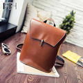 New Popular Brief Retro Women's Leather mature Backpacks lady casual travelling bags vintage school bag for Girls female mochila