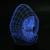3d crânio crânio levou farol lâmpada presente candeeiro de mesa de luz da noite colorido lâmpada atmosfera criativa visual novelty iluminação