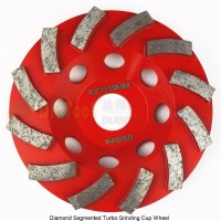 Diameter 4 100mm Diamond Grinding Cup Wheel For Concrete Grinding Disc Segmented Turbo Type