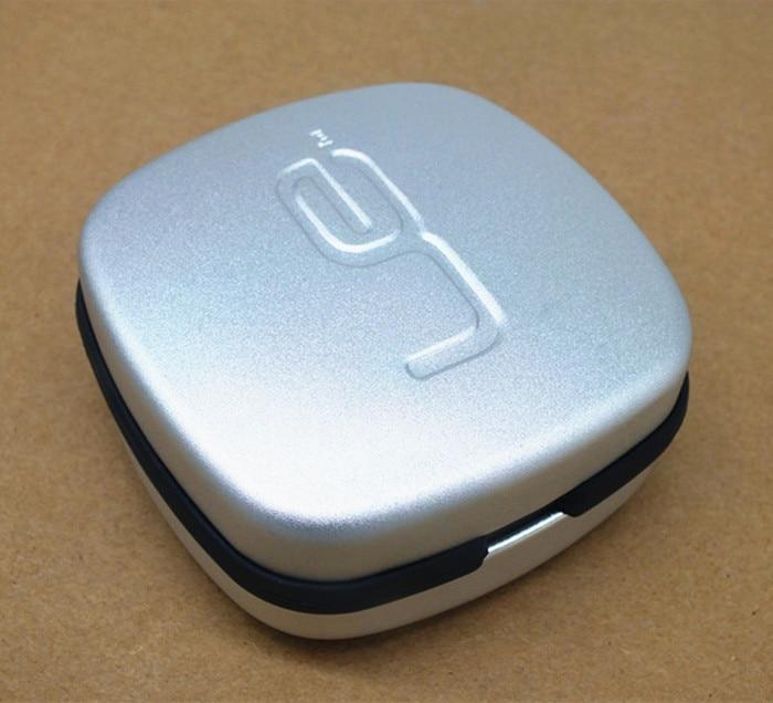 Caja de almacenamiento de auriculares para auriculares duros de aluminio duradero de gama alta Bolsa de auriculares para TF10 / SE535 / W4R / IE80 / UE900