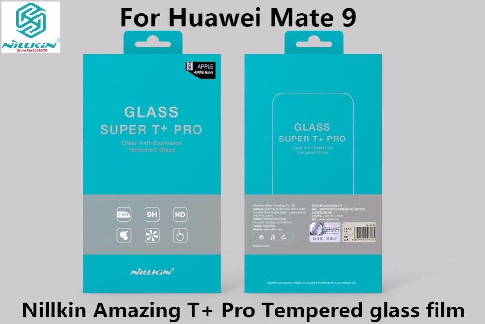 bilder für Huawei mate 9 gehärtetem glas film nillkin super t + pro 2.5d 0,15mm anti-explosion ausgeglichenes glas-schirm-schutz für mate 9 5,9