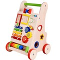 2016 HOT Building Blocks Utility Carts Market Hand Push Baby Walker Designer Baby Stroller Baby Walker Music Toy