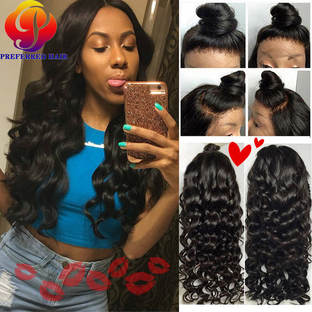 Wet Wavy Lace Front Affordable Human Hair Wigs White Women Lace Frontal Wig  With Baby Hairs 01e47dfeae