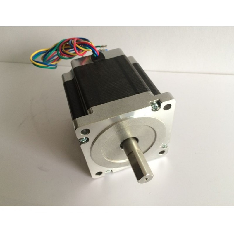 1 pièces 1.8 degré NEMA23 57HS82-3004 2.1N.m 3A Nema 23 moteur 298Oz-in pour 3D imprimante pour CNC gravure fraiseuse