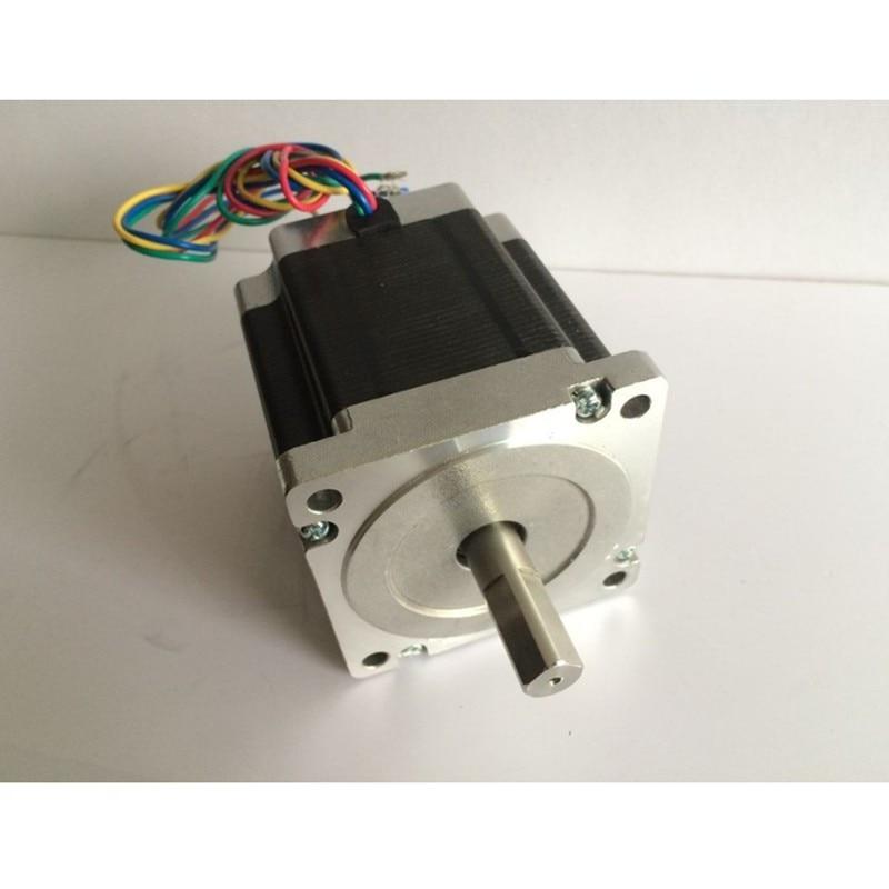 1pcs 1.8 degree NEMA23 57HS82-3004 2.1N.m 3A Nema 23 motor 298Oz-in for 3D printer for CNC engraving milling machine1pcs 1.8 degree NEMA23 57HS82-3004 2.1N.m 3A Nema 23 motor 298Oz-in for 3D printer for CNC engraving milling machine