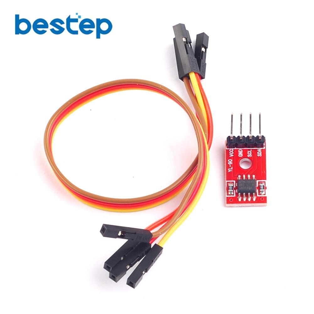 Big Sale At24c01 24c02 24c04 24c08 24c16 24c32 24c64 24c128 24c256 I2c Wiring Interface Eeprom Memory Module Smart Car
