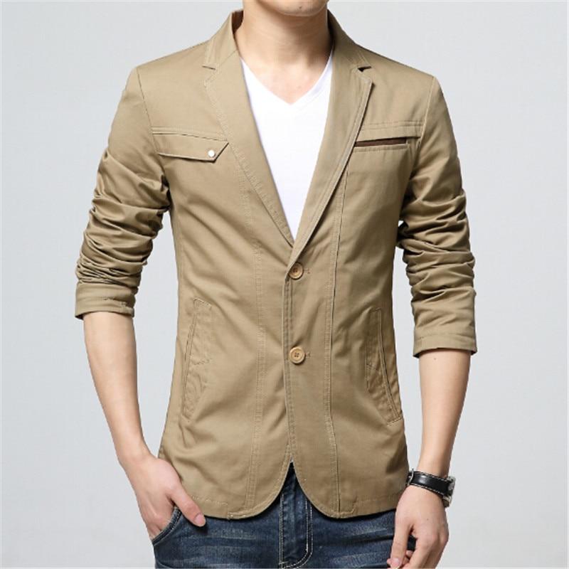 2018 spring and autumn season mens fashion Korean version pure color suit men business leisure big code suit coat