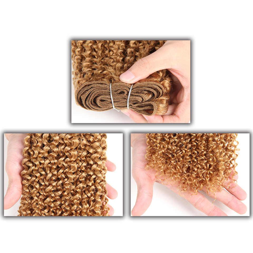 Цельнокроеное платье только sleek бразильский гламурный локон натуральные волосы Связки предложения Реми однотонная одежда 1 1B 4 27 30 волос Weave Расширения 100 г