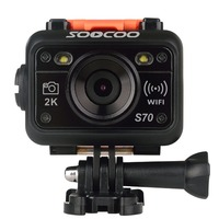 Original SOOCOO S70 Action Camera 2K 30fps 1080p 60fps 60M Waterproof Build In WIFI With Watch