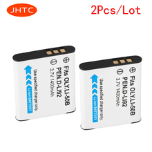 JHTC 2pcs/lot 1400mAh LI-50B LI 50B LI50B Camera Battery for Olympus LI-50B LI 50B LI50B for Pentax D-LI92 XZ-1 SP-800UZ SZ-30MR
