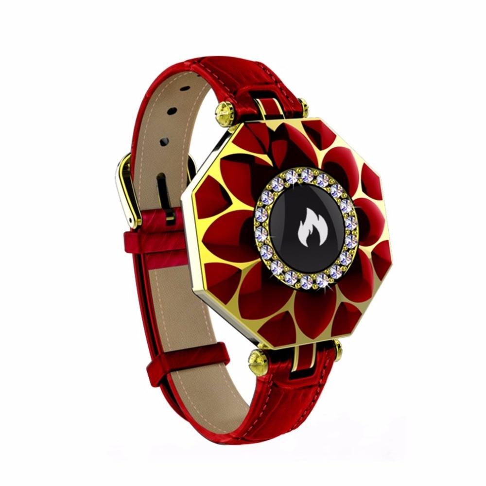 N2 women Sport Bracelet Smart Watch Bluetooth Heart Rate Sleep Monitor Pedometer Female Intelligent Fitness