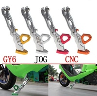 Motorcycle Parts 28cm Aluminum Alloy Side Stand Motorcycle Modification Accessories CNC Tripod Side Frame Parking Feet Kickstand