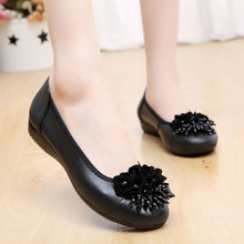 2016 spring and autumn new women shoes, women casual flat shoes Peas flat with her mother slip shoes driving shoes