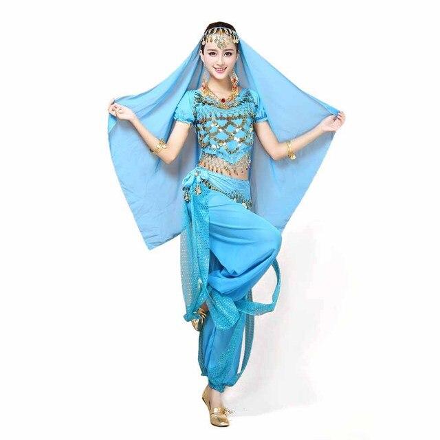 Sexy Women Bellydance Costume Gorgeous Arabian Princess Jasmine Fancy Dress Belly Dancer Costume Top Belt Pants  sc 1 st  AliExpress.com & Sexy Women Bellydance Costume Gorgeous Arabian Princess Jasmine ...