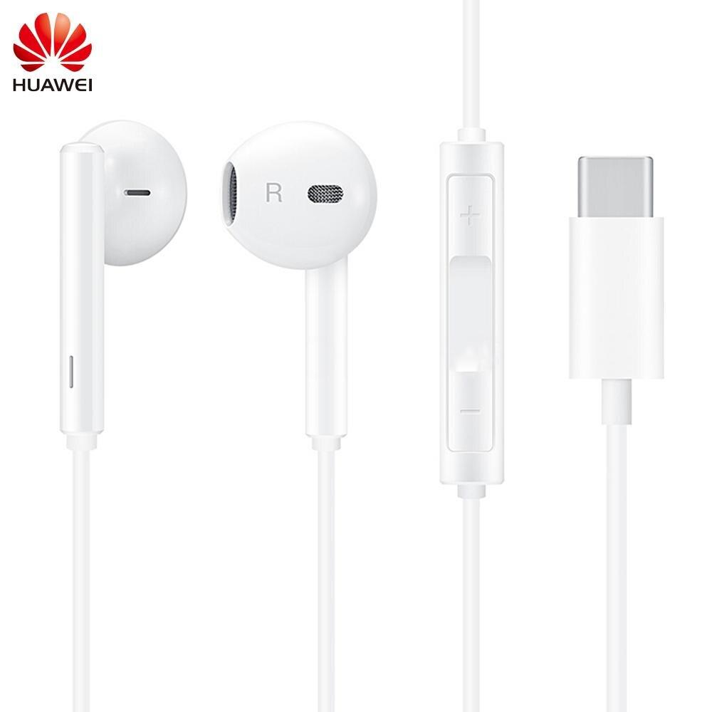 Original CM33 Earphone USB Type C In Ear Hearphone Headset Mic Volume for HUAWEI Mate 10 RS P10 P20 Pro Note 10 for XIAOMI 8 6
