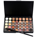 Hot Sale 40 Earth Colors Matte Pigment Eyeshadow Palette Highlighters Cream Makeup Shimmer Set + Brush Tool kits Wholesale