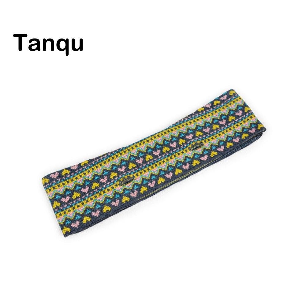 TANQU New Spring Mini Knit Trim Jacquard Wool Trim For Mini Obag Bag Body O Bag Accessory