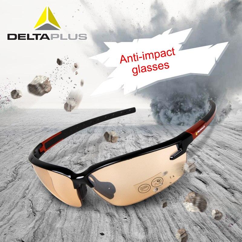 Gafas de seguridad Deltaplus 101110 gafas de exterior a prueba de polvo arena Anti-UV gafas de protección para montar gafas Vidrio protector para huawei y7 2019, vidrio de seguridad hauwei huavei y7 pro 2019 y7pro 7y y 7 y película frontal de vidrio templado para teléfono trem