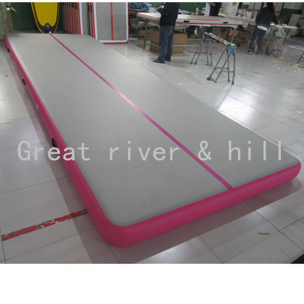 inflatable floor home gymnastics gym track tracks mats for tumbling itm air