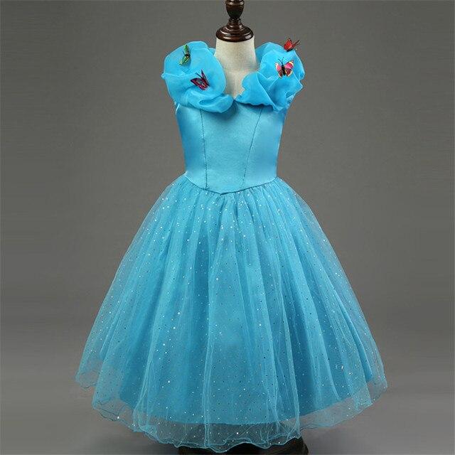 Mode Mädchen Cinderella Schmetterling Kleid Heißer Verkauf ...