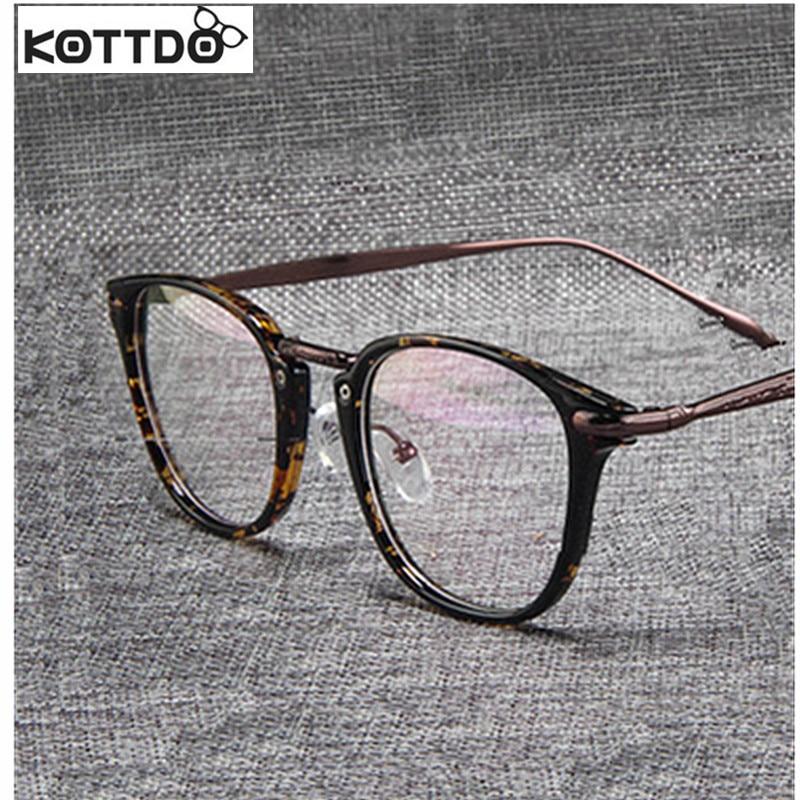 KOTTDO 2017 New Retro Trends Glasses Frames Artistic Glasses Frames ...