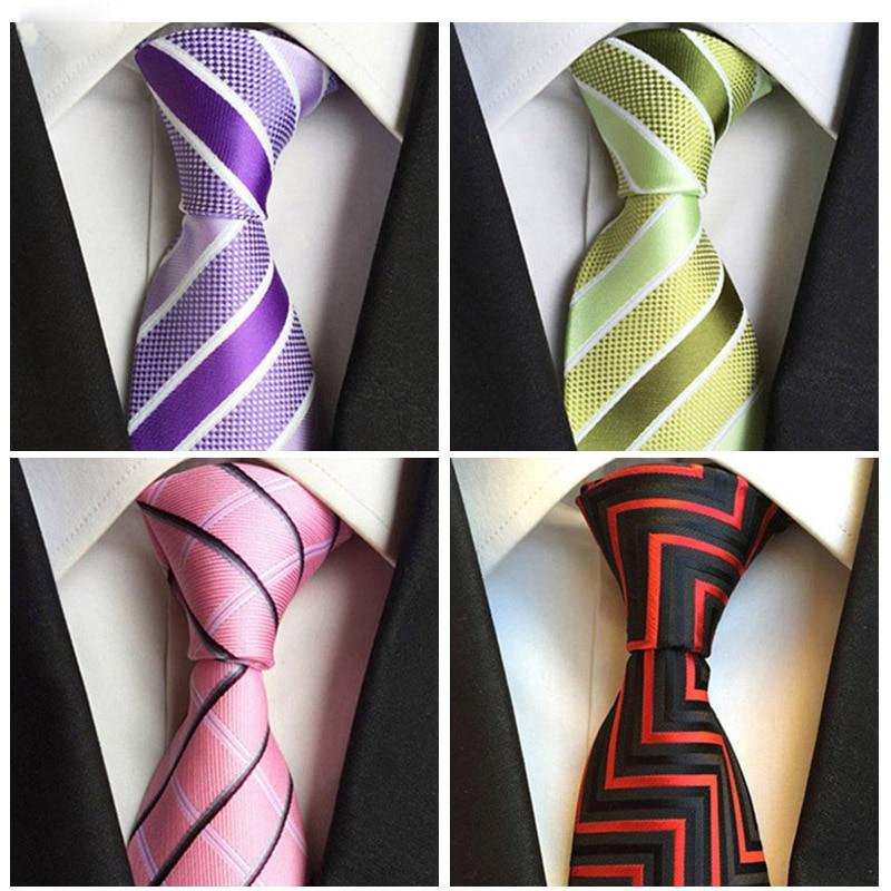 2018 Fashion Tie Mens Ties For Men Polyester Silk Tie Black Necktie  Neckwear Bow Tie Handkerchief Men's Clothing Accessories