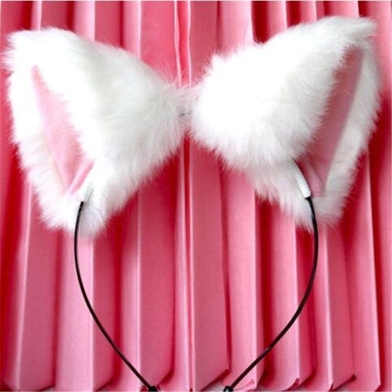 Fur Cat Ears Headband 3