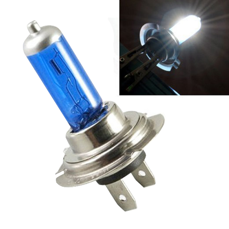 Mayitr 1pc H7 12V 100W 4000K Car HID Super White Universal Headlight Light Lamp Bulb High Quality