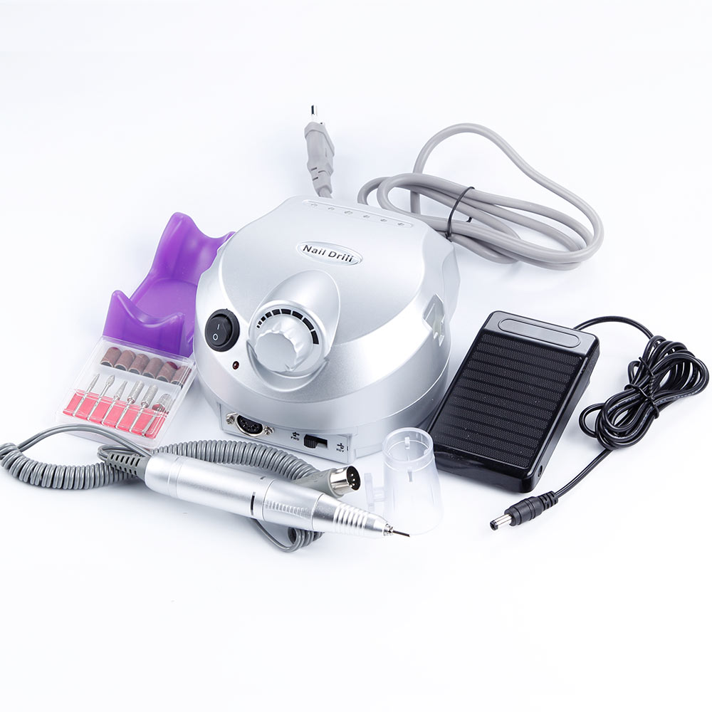 30000RPM Pro Electric Nail Milling Manicure Machine Nail Drill Bits Milling Cutters Nail Art Files Tools Apparatus for Manicure ceramic nail art tools milling cutter for manicure pedicure nail drill apparatus rotary manicure device set of milling cutters