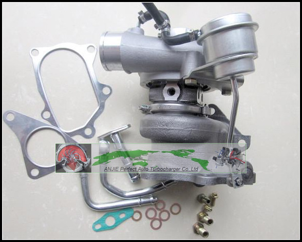 Turbo TD04L 49377-04200 14412-AA140 Turbocharger For SUBARU Forester Impreza 1997- 58T EJ20 EJ205 2.0L 211HP with gaskets pipe turbo for komats pc130 8 earth moving excavator saa4d95le 4d95le td04l 49377 01610 49377 01611 6208818100 turbocharger gaskets