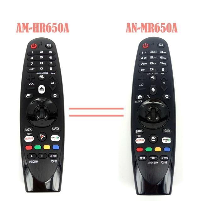 Yeni AM HR650A AN MR650A değiştirme için sihirli uzaktan kumanda seçmek için 2017 akıllı televizyon 55UK6200 49uh603v Fernbedienung