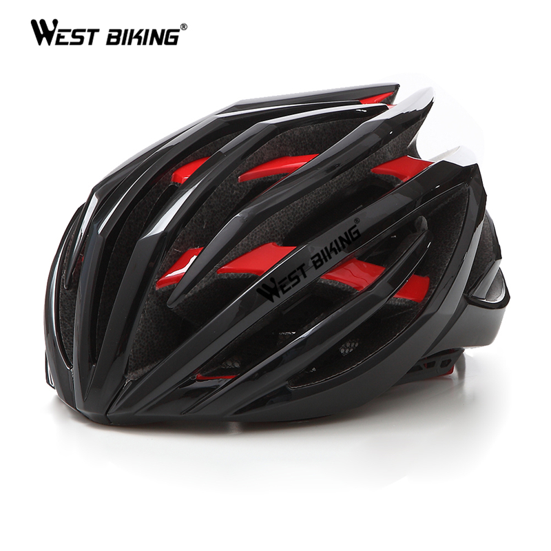 цена на WEST BIKING Ultralight Cycling Helmet 24 Air Vents Double Layer Casco Ciclismo Sport Road MTB Bike Helmet Cycling Bicycle Helmet