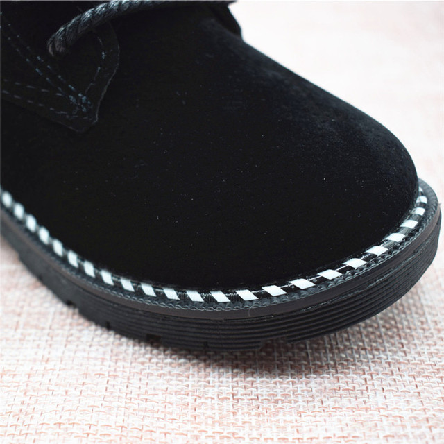 Size 21-30 Fashion 2019 Autumn Boys Baby Boots For Girls Children Martin Boots Kids Ankle Zip Sneakers Girl Casual Toddle Shoes 4