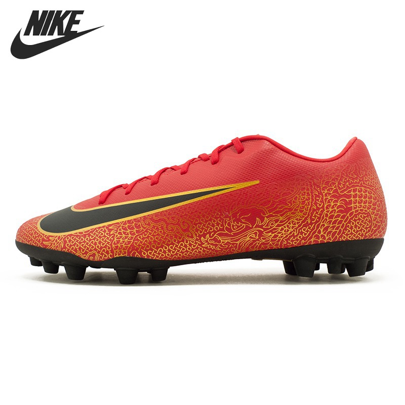 the latest ad9a4 85fc2 US $98.0 30% OFF|Original New Arrival 2018 NIKE VAPOR 12 ACADEMY CR7 AG R  Men's Football Shoes Soccer Shoes Sneakers-in Soccer Shoes from Sports & ...