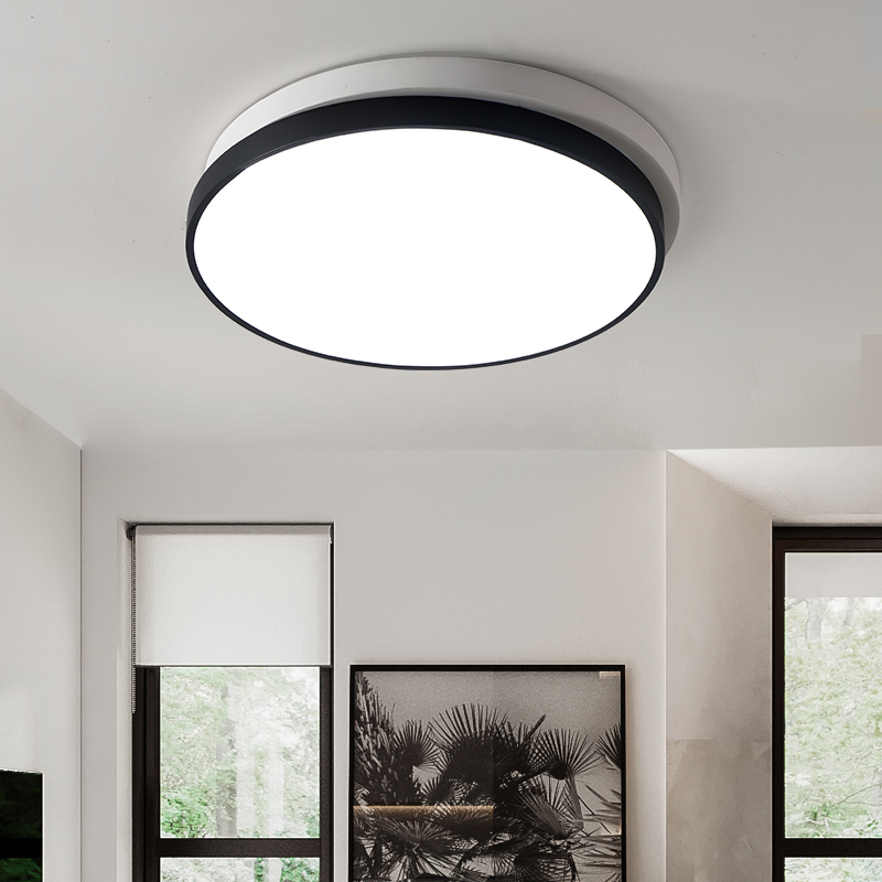 Modern office lighting design simple modern Ceiling Lights design personality LED dimming living room Ceiling lamps ZA BG27 modern led ceiling lights black white square office light with dimming remote home lighting for living room dining ceiling lamps