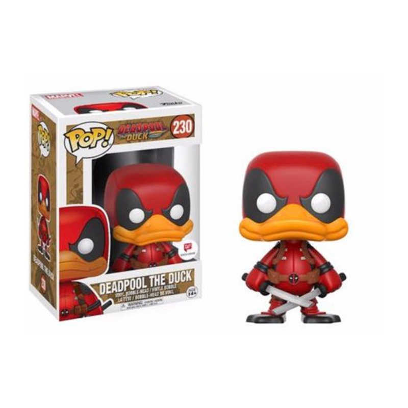 Funko pop Movie: Deadpool the Duck Vinyl Figure Model Toy with  Box