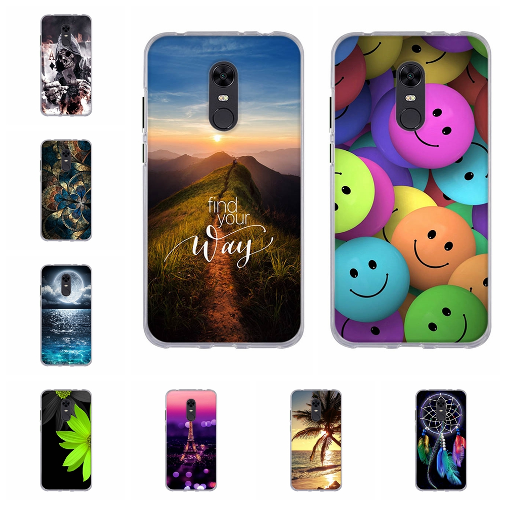 For Xiaomi <font><b>Redmi</b></font> <font><b>4x</b></font> 4a 4 Prime Pro <font><b>Case</b></font> Soft <font><b>TPU</b></font> Cover For <font><b>xiomi</b></font> <font><b>Redmi</b></font> 4 Prime 5 5A 5 Plus <font><b>Case</b></font> For <font><b>Redmi</b></font> <font><b>Note</b></font> 5 4 <font><b>4x</b></font> pro <font><b>Case</b></font> image