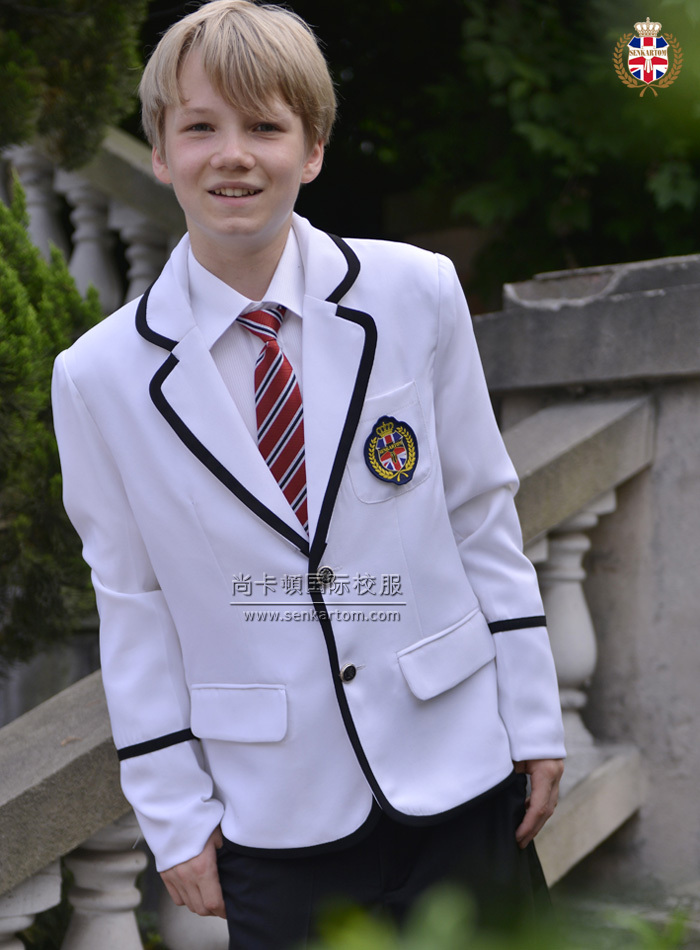 SENKARTOM male school uniform sets 4pcs, boy blazer suits,man suits,business blazerset 2 color - Official Store store