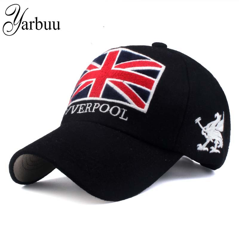 [YARBUU] 2017 new fashion winter baseball cap Nylon keep warm hats for men and women casquette polo 4 Colors for Choice fashion printed skullies high quality autumn and winter printed beanie hats for men brand designer hats