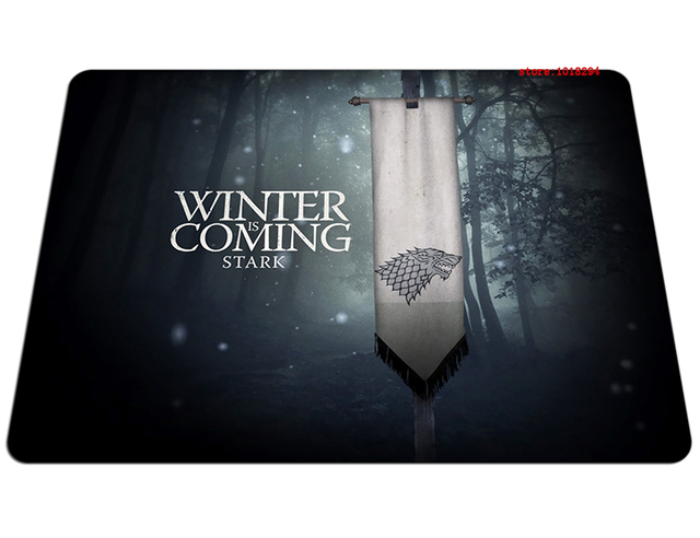 Winter is Coming Stark Game of Thrones Mousepad